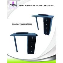 Mesa De Manicure 4 Gaveta Economica