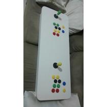 Mesa Controle Arcade Duplo Fliperama Portatil Recalbox Pc