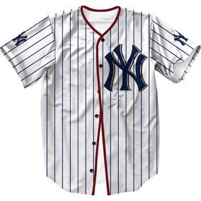 Camisa Jersey Baseball Ny Liga Americana Mlb Swag 1fb0385154f