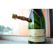 Bong De Fabricación Ruda.champaña Moet &chandon.pipa De Agua