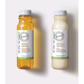 Shampoo Y Acondicionador Nutritivo Biolage Raw Nourish
