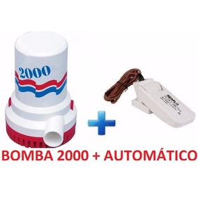 Bomba De Porão 2000 Gph + Automático - Seaflo - Promoção