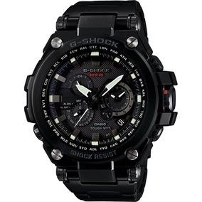 Casio G-shock Mt-g Acero Inoxidable Negro,cristal De Zafiro
