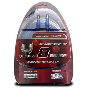 Kit Cable P Amplificador Calibre Cal 8 Ultra Xtreme Ul Kit8