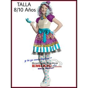 Disfraz Monster High De Niña Fiesta Hallowen Nuevo