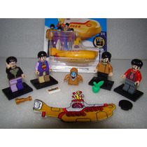 The Beatles Yellow Submarine + Lego Parche Fotos Hotwheels
