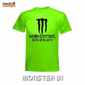 Playeras Monster Dry-fit Dama Y Caballero