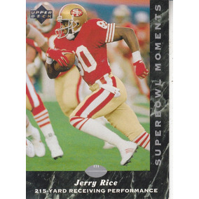 8b2a796df0 1992 Upper Deck Experience Sb Moments Jerry Rice Wr 49ers