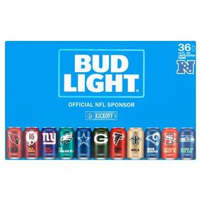 Cerveza Bud Light Coleccionable 12 Oz.caja Con 36 Latas
