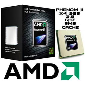 Pc Gamer Cpu Amd Phenom Ii X4 925 2.8ghz Ddr3 Vendo O Cambio