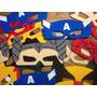 Antifaces Superhéroes Pack 10 Unidades