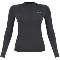 Blusa Segunda Pele Quente Curtlo Thermoplus Feminina T Shirt