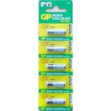 Cartela 5 Bateria Mini Pilhas Alcalinas 12v A27 27a Gp Fina