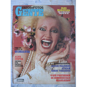 Revista Fatos E Fotos Gente (1979) Elke Fafá Flamengo Pôster