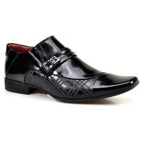 Sapato Social Masculino Calvest Flex System Em Couro