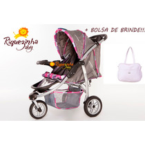 Carrinho De Bebê ;três Rodas;tipo Quinny;bebê;importado.