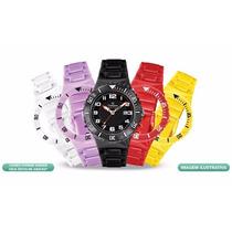Relógio Champion Troca Pulseira Original Colorido Kit Com 5