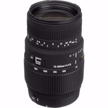 Lente Sigma 70-300mm F4-5.6 Dg Macro P/ Canon+ Frete Grátis