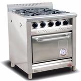 Cocina Morelli 75 750 Puerta Acero 4 H. Reja Hierro Zona Sur
