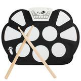Bateria Eletrônica Completa Drum Kit Portátil