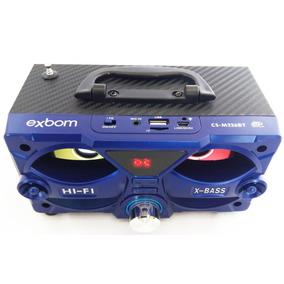 Mini Caixa De Som Bluetooth M226bt Portatil Mp3 Usb Fm Sd