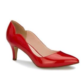 Zapato Andrea Cerrado Mod4762 Tacon - Zapatos de Mujer Rojo en ... 74a135cfb89b