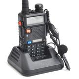 Rádio Comunicador Walk Talk Talkabout Dual Band + Fone Uv-5r