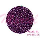Perlas Comestibles Sprinkles Violeta 3mm