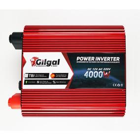 Conversor 12v P/ 220v Transformador Inversor 4000w 2 Tomadas
