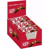 2 Unid Chocolate Kit Kat Cx/caixa Fechada 24 Unidades