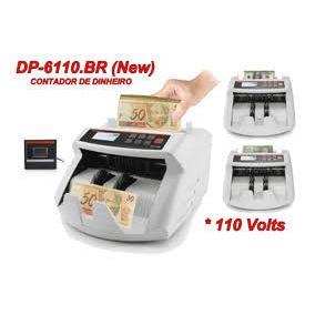 Máquina Contadora De Dinheiro Powerpack Dp-6110 110v