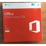 Microsoft Office 2016 Professional Plus Retail Fisico