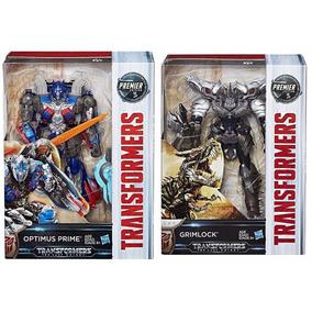 Transformers Edicion Premier 2 Figuras Optimus Y Grimlock