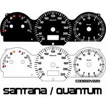 Kit Translúcido P/ Painel - Cod650v220 - Santana 98 Ed 2000