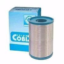 Solda Estanho 250g 1.0mm Cobix Azul 60x40 Fluxo Ra(t2)