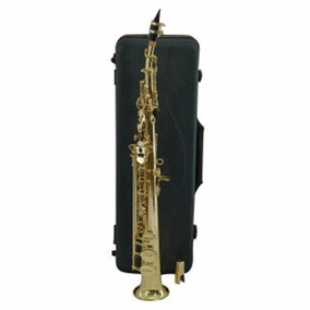 Saxo Soprano Con Case Baldassare Etinger ( Envío Gratis )