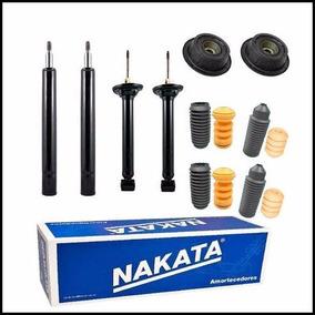 Kit 4 Amortecedores Dianteiros Traseiros Nakata Gol G3 G4 -