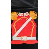 Disfraces Patrios Pechera Disfraz Soldado Realista Rojo Esp