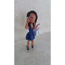 Topo De Bolo Patricinha, Boneca Em Biscuit,noivinhos Biscuit