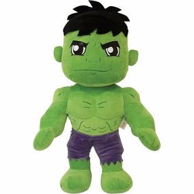 Boneco Pelucia Incrivel Hulk Marvel