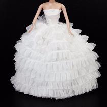 Vestido De Noiva Roupa Boneca Blythe Pullip Barbie Licca