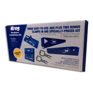 Sistema Kreg Kit Montaje Khi Slide + Hinge + Pull + Clamps
