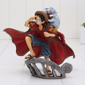Action Figure -one Piece Luffy E Dracule Mihawk - Importado