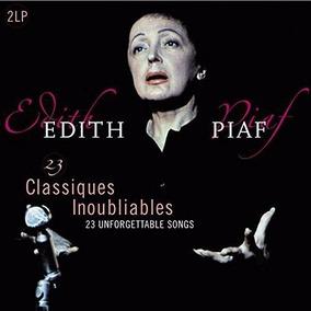 Edith Piaf 23 Classiques Inoubliables Vinilo Doble Nuevo