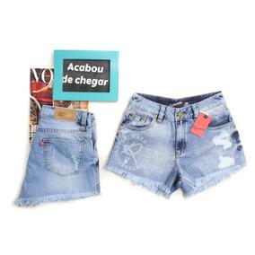 Short Jeans Barra Desfiada Revanche