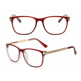Armação Oculos Acetato Quadrado Masculino Feminino Fashion