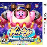 Kirby Planet Robot 3ds Nuevo Game Sport Chile