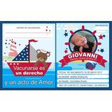 Tarjetas De Vacunacion Control De Vacunas Y Mas