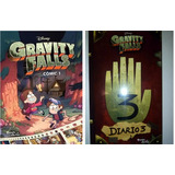 Diario 3 Gravity Falls + Comic 1 + Regalo Sorpresa