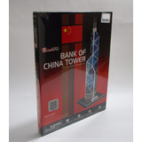 Rompecabezas 3 D Bank China Tower 14 Piezas Armatodo M